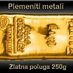zlatna poluga od 250 grama